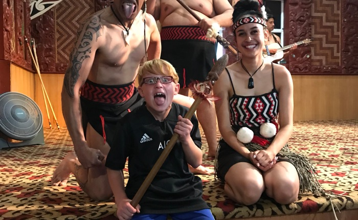 Day 426 – Thankful for Experiencing the Māori Culture