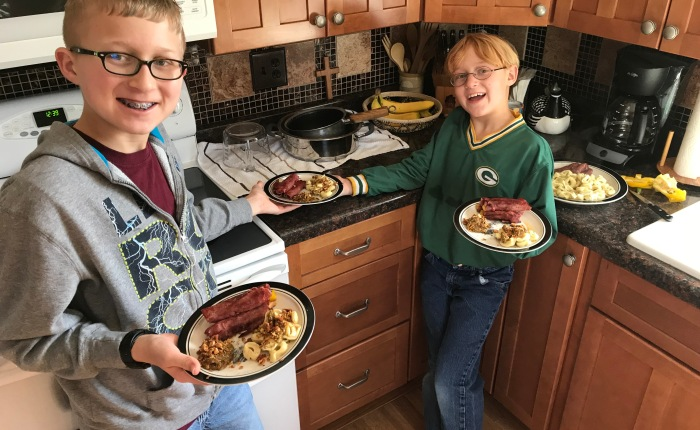 Day 537 – Thankful for a Real Life Episode of Chopped with theBoys