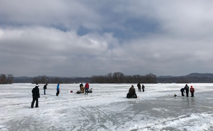Day 901 – Thankful for Ice Fishing with the In Laws and Reminders of One of the Reasons I Blog Openly