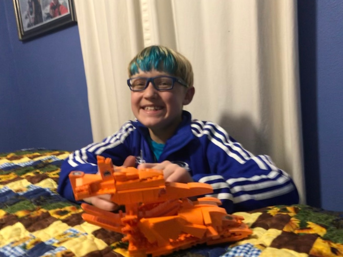 Day 897 – Thankful for LEGO Time withGavin