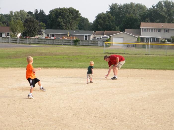 Grandpa Pete and Baseball 2010 10