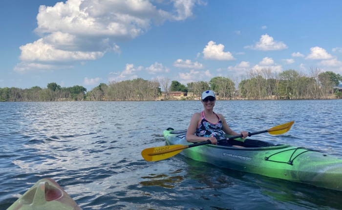 Day 1,380 – Thankful for Kayak Date Night with Becky and a Glimpse Into theFuture