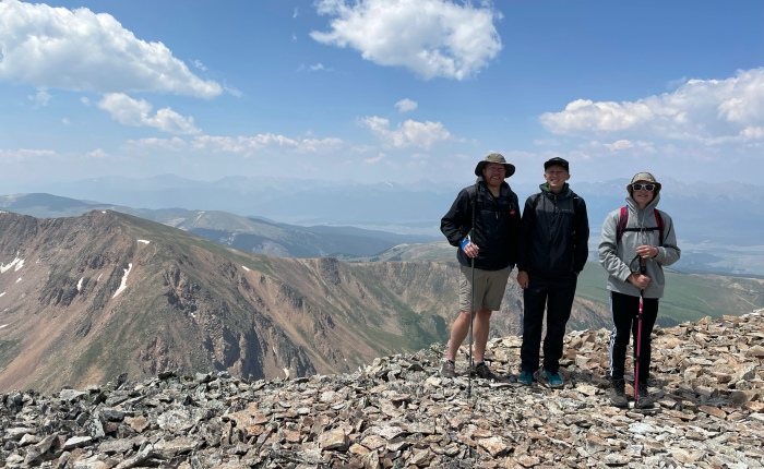 Day 1,753 – Thankful for Hitting the Trails Early and My Son's Appreciation of MountainHiking